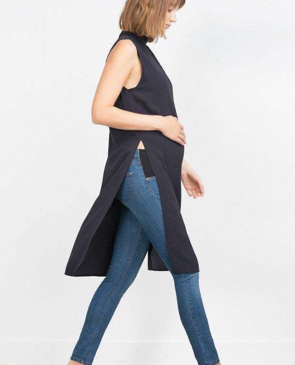 zara-premama-vestido-camiseta-larga