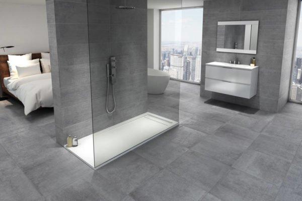 baños-modernos-con-ducha-limpio