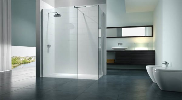 De 100 fotos de dise os de ba os modernos for Ver banos con ducha