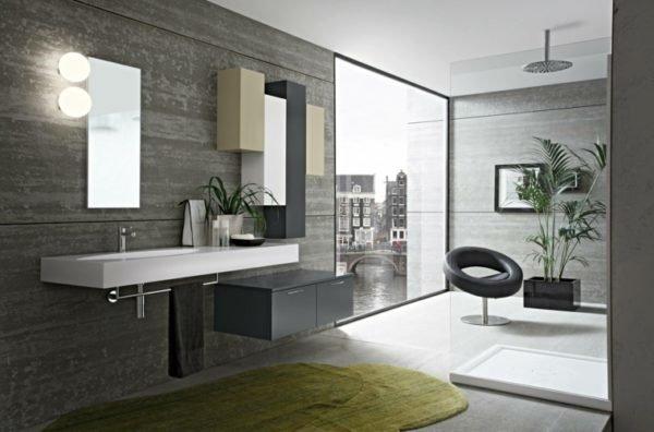 de 100 fotos de dise os de ba os modernos. Black Bedroom Furniture Sets. Home Design Ideas