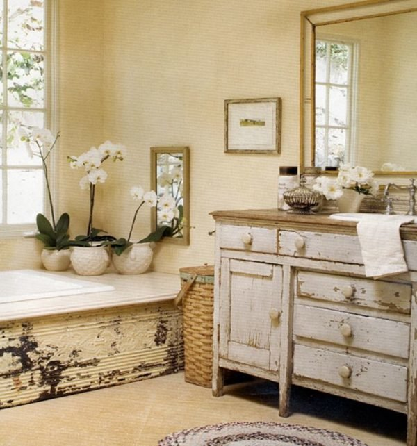 baños-rusticos-con-encanto-vintage