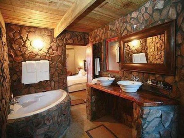 baños-rusticos-de-piedra-y-madera-baño-completo
