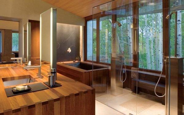 baños-rusticos-modernos-lineas-sencillas