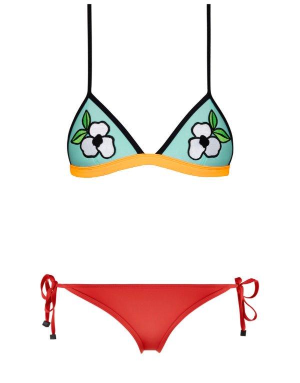 bikinis-triangl-flores-pintadas-pistacho