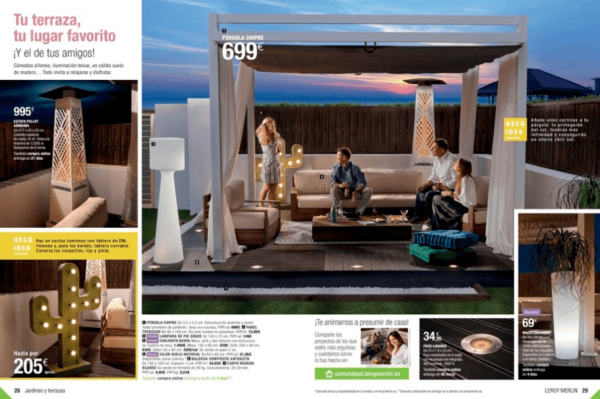 Muebles para terraza y jard n de leroy merlin 2018 - Ikea muebles jardin 2017 ...