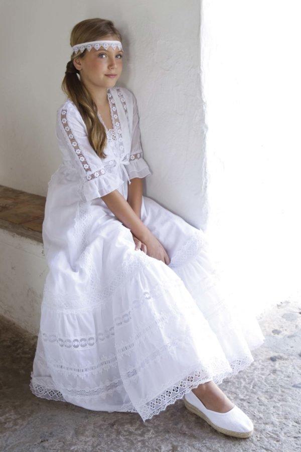 Vestidos de ropa ibicenca