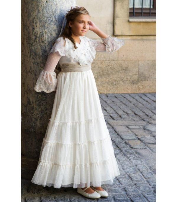 Vestidos de primera comunion estilo ibicenco