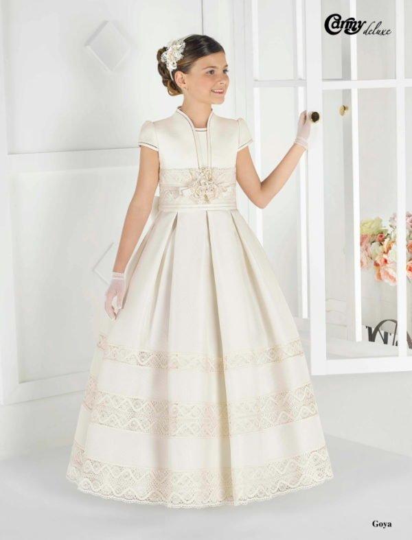 Modelos de vestidos de primera comunion niрів±a