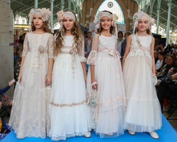 f2797ce03 Vestidos de Comunión Diferentes 2019 - Tendenzias.com