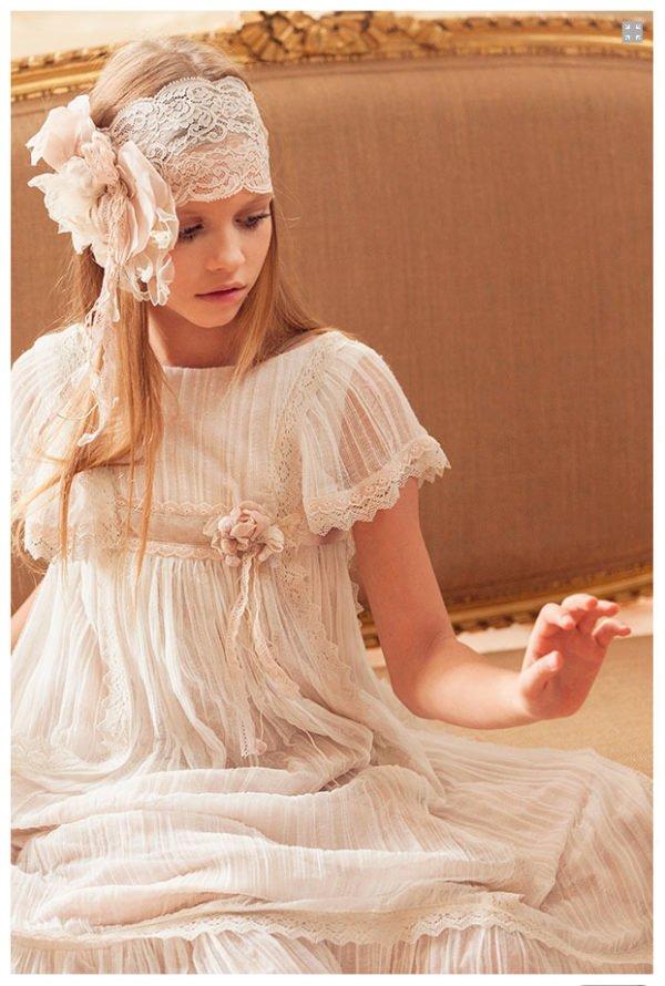 Como hacer fajines para vestidos de comunion
