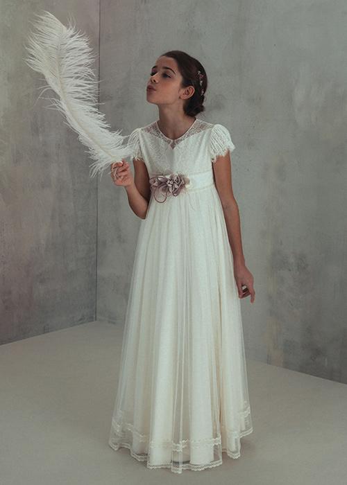 bf5e9de81 Vestidos de Comunión El Corte Inglés 2019 - Tendenzias.com