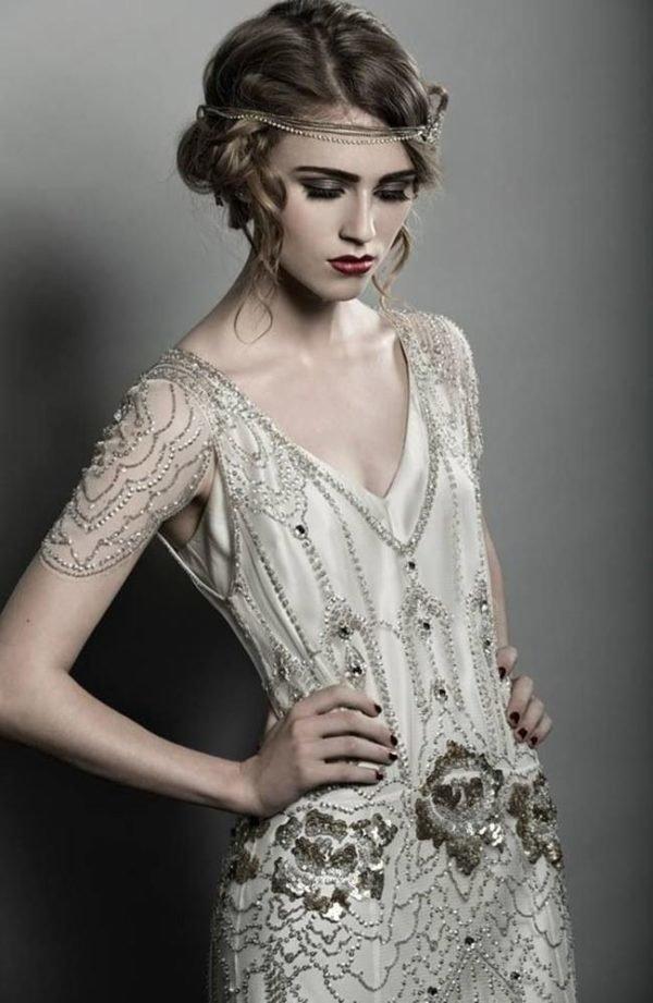 vestidos de invitada de boda para invierno 2017 - tendenzias