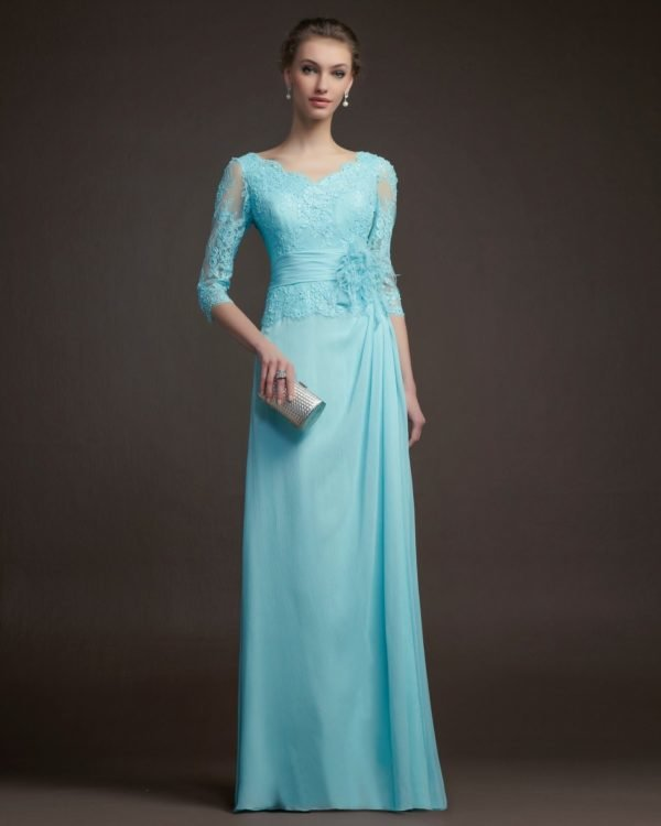 vestidos-de-madrina-de-boda-2016-celeste