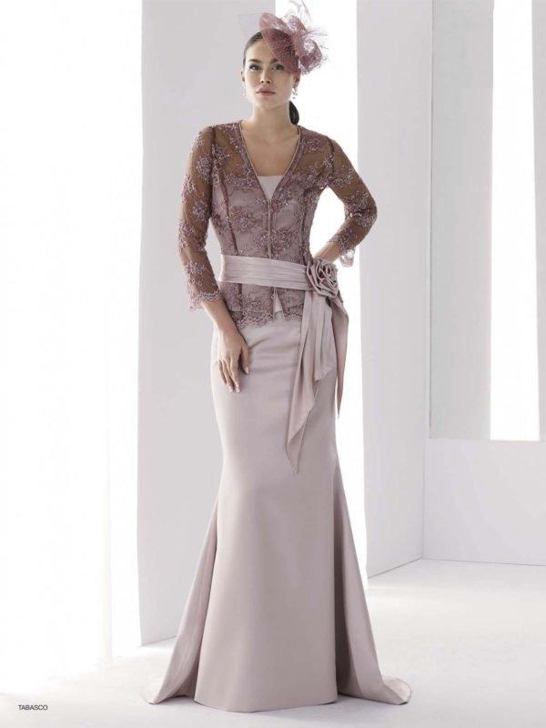 vestidos-de-madrina-de-boda-largos-rosa-palo