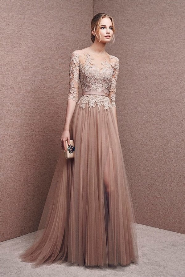 vestidos-de-madrina-de-boda-largos-tul