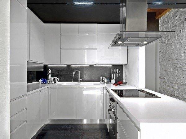 de 100 fotos de cocinas pequeñas y modernas de 2019