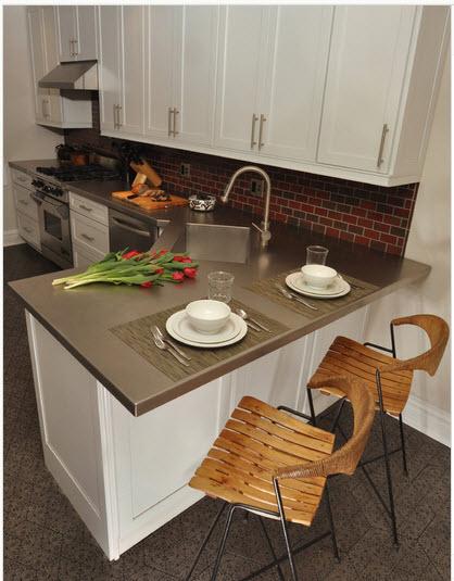 cocinas-pequeñas-y-modernas-cocina-blanca-y-marron