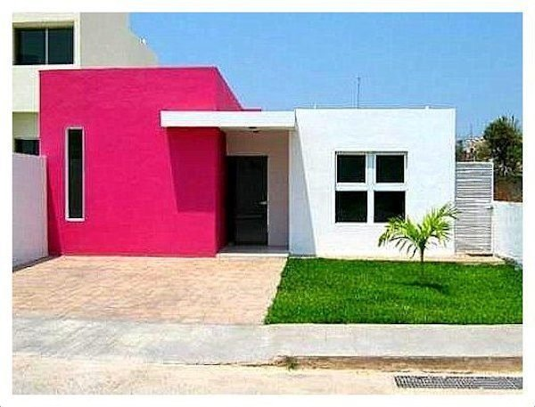 40 fotos e ideas de colores para fachadas de casas y for Colores de exteriores para casas modernas