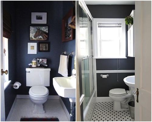 Colores para cuartos de ba o peque os 2018 - Cuartos de banos modernos y pequenos ...