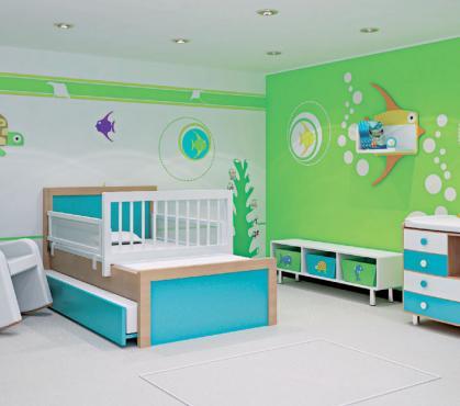 Colores para cuartos de beb s reci n nacidos 2018 - Cuna de mimbre para bebe ...