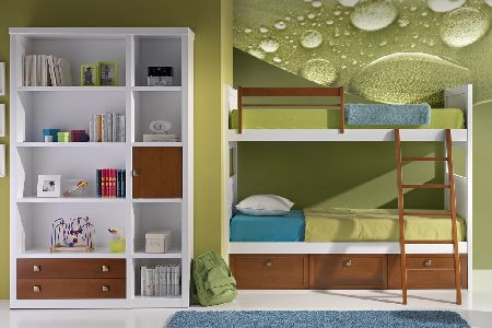 Colores para cuartos juveniles habitaciones 2018 - Habitaciones modulares juveniles ...