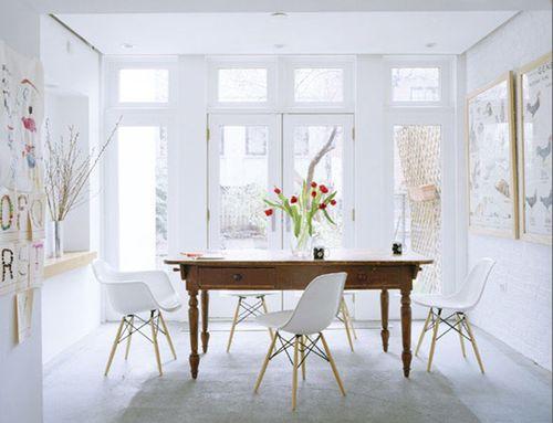 ideas de colores para el comedor. Black Bedroom Furniture Sets. Home Design Ideas