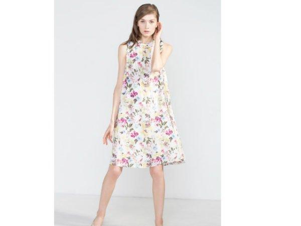 cortefiel-vestidos-2016-blanco-con-flores
