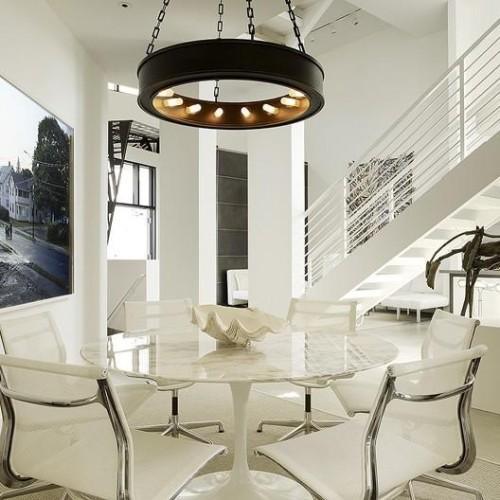 Ideas de colores para el comedor for Comedores modernos color blanco