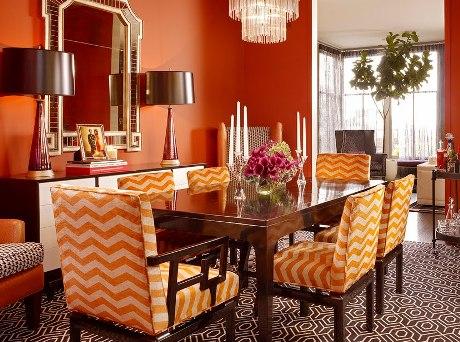 Ideas de colores para el comedor for Colores de pintura para sala comedor