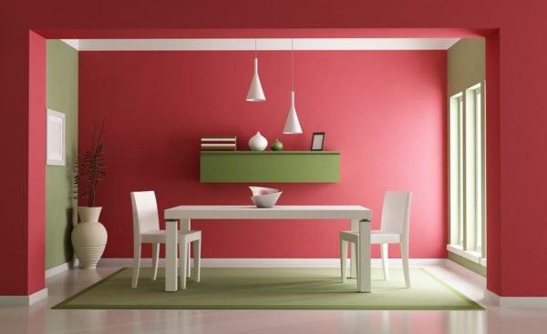 Ideas de colores para el comedor - Pintura comedor moderno ...