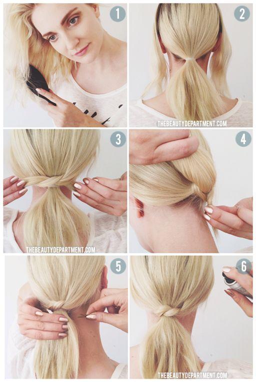 peinados-faciles-para-hacerse-una-misma-en-casa-otoño-invierno-coleta-nudo