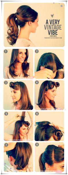 peinados-faciles-para-hacerse-una-misma-en-casa-otoño-invierno-coleta-vintage