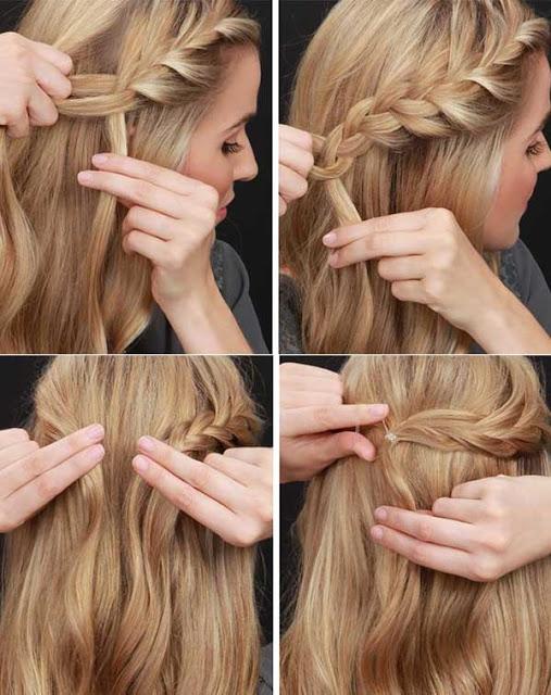 peinados-faciles-para-hacerse-una-misma-en-casa-otoño-invierno-media-cola-trenzada