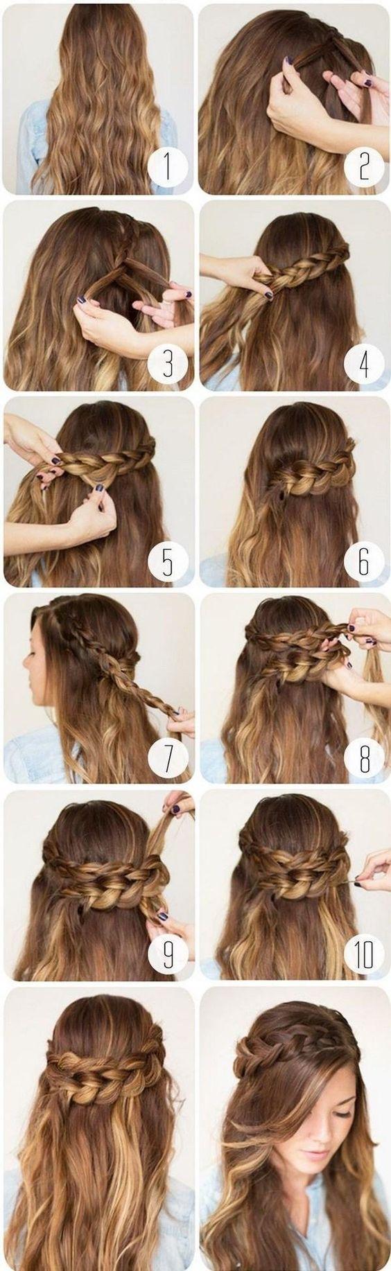 peinados-faciles-para-hacerse-una-misma-en-casa-otoño-invierno-trenza-cruzadas