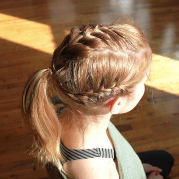 peinados fciles para hacerse en primavera verano trenzas trenzas pegadas - Peinados De Trenzas Faciles