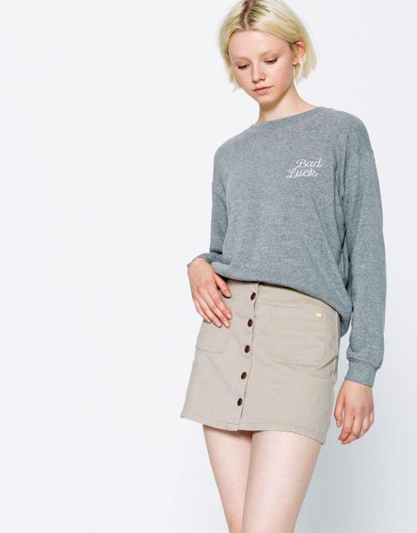 pull-and-bear-otoño-invierno-faldas-botones