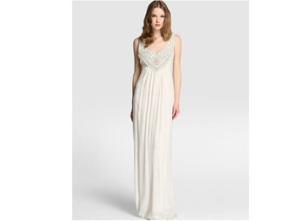 Sonar con ver mujer vestida de blanco