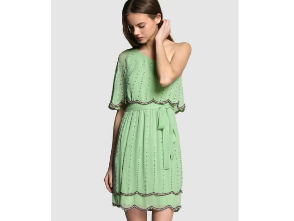 tintoretto-ropa-fiesta-vestido-corto-verde-2016