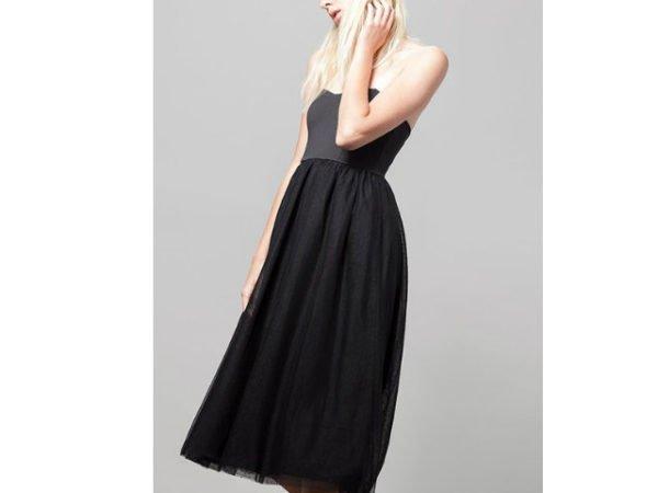 vestido-stradivarius-negro-tul