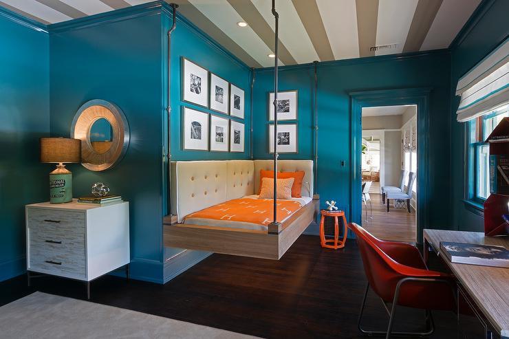 habitaciones pintadas de azul Colores Para Cuartos Juveniles Habitaciones 2019