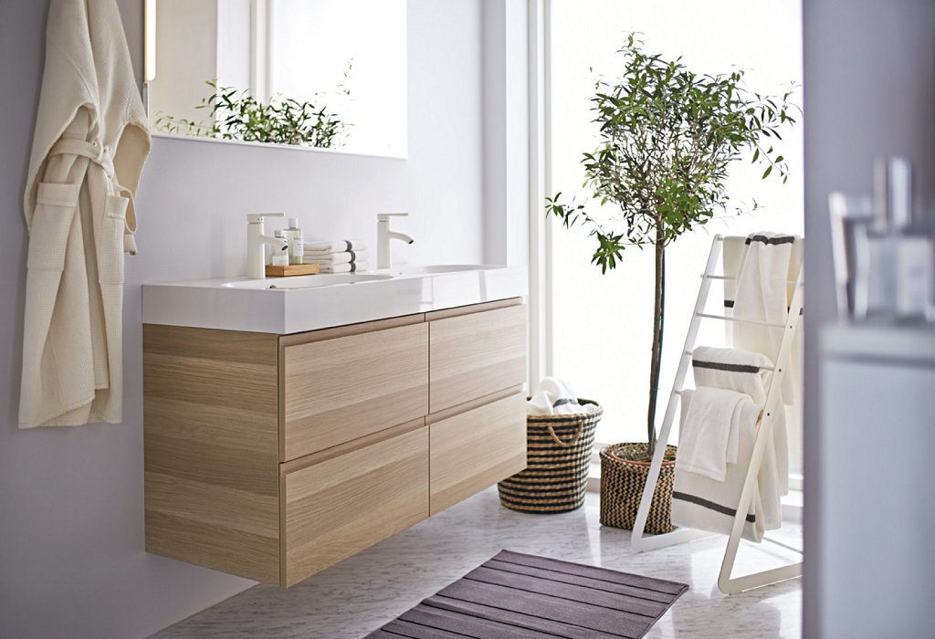 ideas de baño marrón y crema Colores Para Cuartos De Bao 2019 Tendenziascom