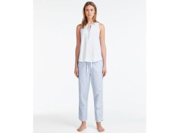 oysho-pijama-largo-cuello-mao
