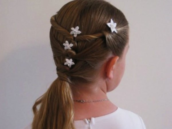 peinados-niñas-2016-coleta-con-estrellas