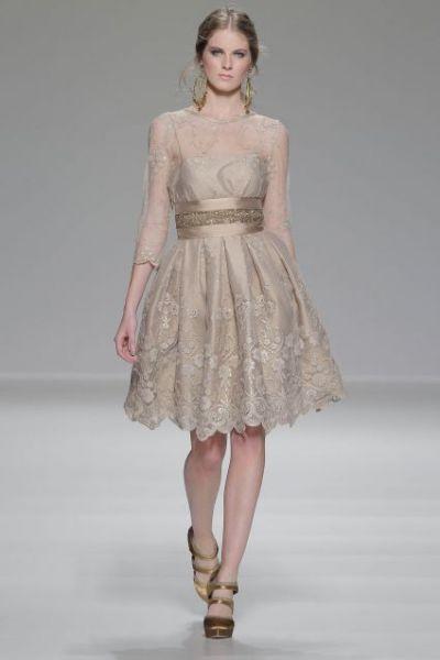 vestidos-de-fiesta-cortos-otoño-invierno-champan