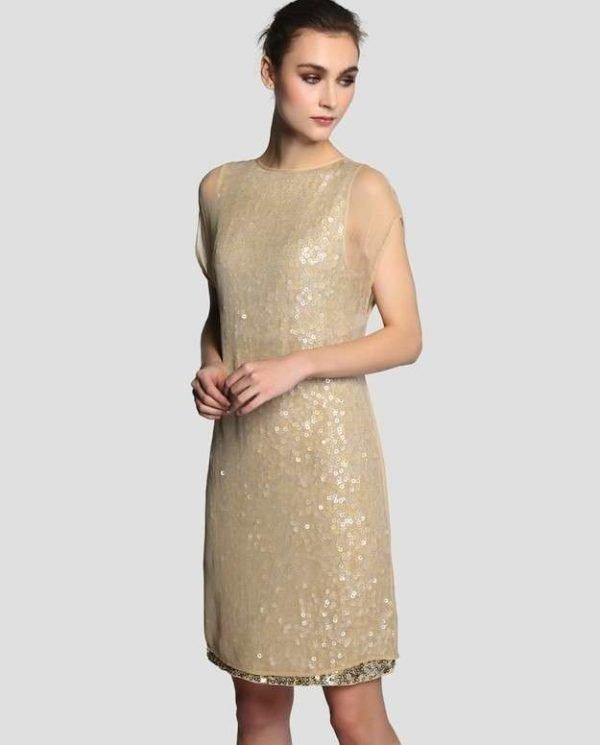 vestidos-de-fiesta-cortos-otoño-invierno-dorado
