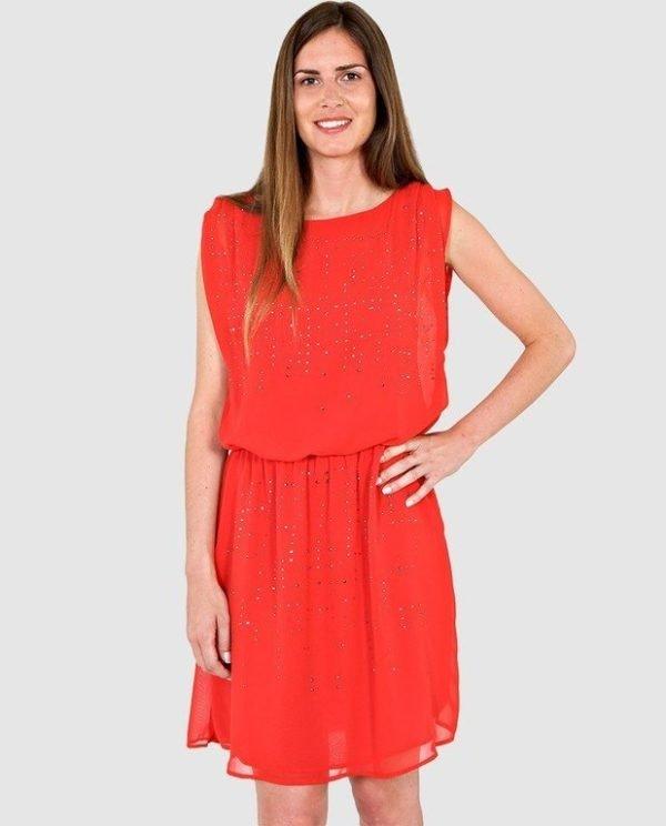 vestidos-de-fiesta-el-corte-ingles-brillos-naf-naf-rojo-strass