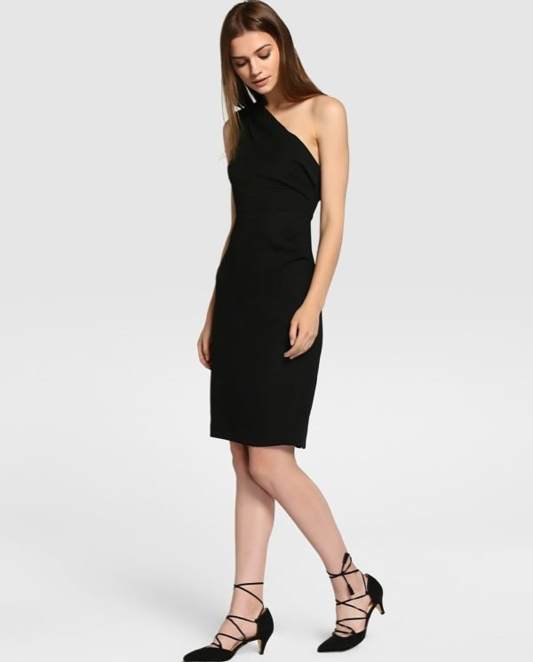 vestidos-de-fiesta-el-corte-ingles-negro-tintoretto-asimetrico