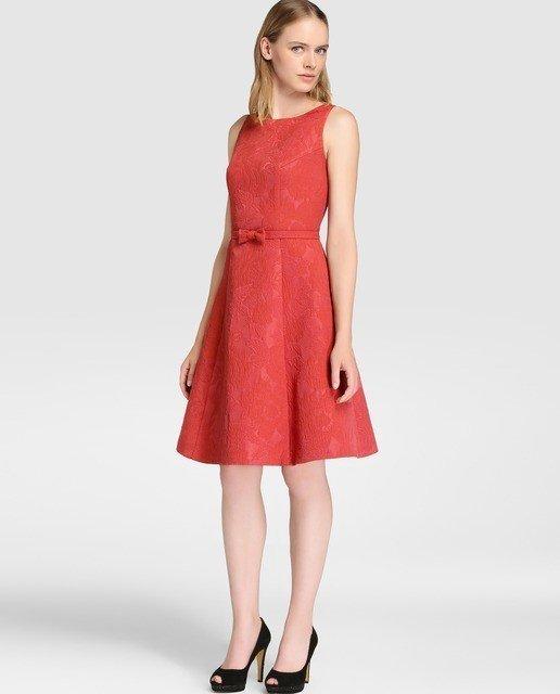 vestidos-de-fiesta-el-corte-ingles-otoño-invierno-coral