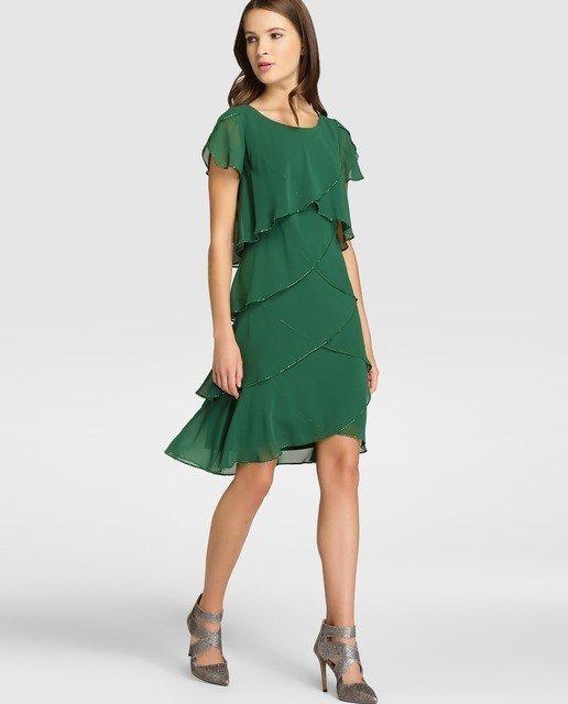 Vestidos de fiesta verde pastel
