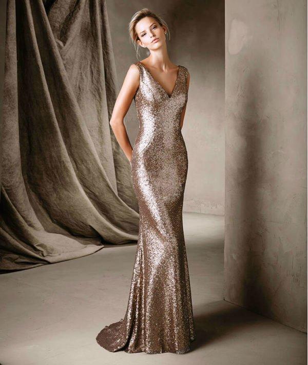 vestidos-de-invitada-de-boda-para-otoño-invierno-dorado